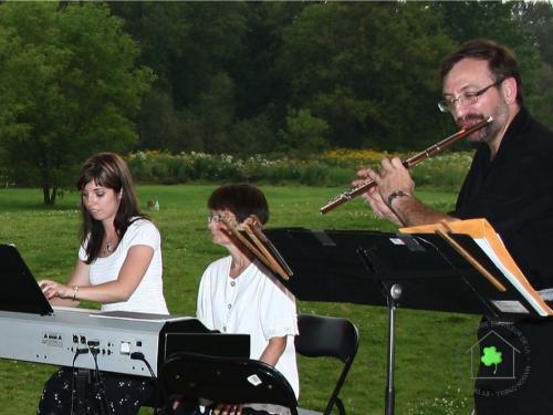 16 août - Isabelle Mathieu, piano et flûte