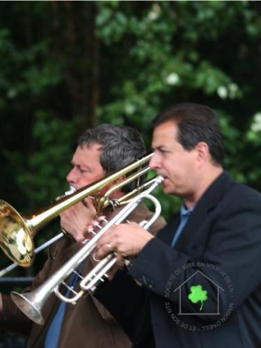 13 juillet - Quintette de cuivres de l´OSQ et Benoît Roy